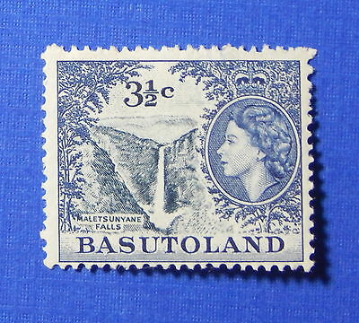 1962 BASUTOLAND 3 1/2c SCOTT# 76 S.G.# 73 UNUSED                         CS20116