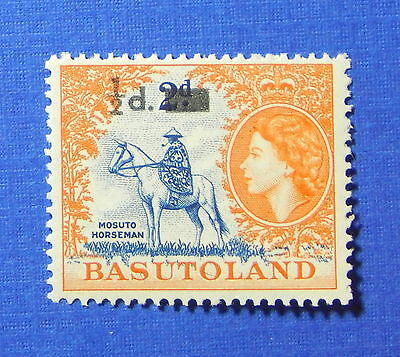 1959 BASUTOLAND 1/2d SCOTT# 57 S.G.# 54 UNUSED NH                        CS20099