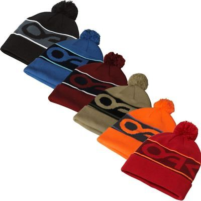 Oakley 2018 Mens Factory Cuff Beanie Winter Thermal Bobble Hat