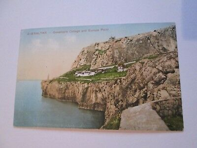 Postcard of Gibraltar, Governor's Cottage and Europa Point (Unposted)