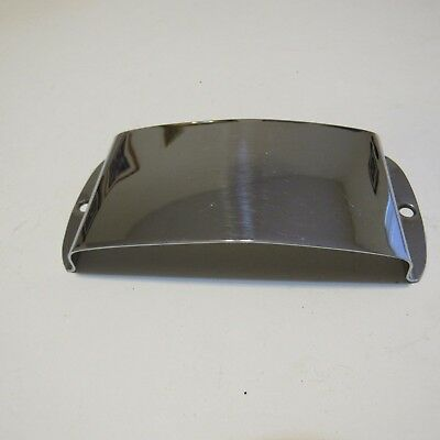1963 1964  Fender Jazz Bass Pickup Cover Chrome, Very Good Condition