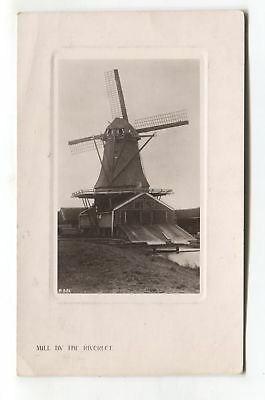 Unknown windmill - 1908 used real photo postcard