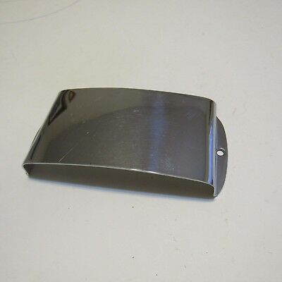 Early 1960s Fender Jazz Bass Pickup Cover Chrome, w/Screws No Rust ON SALE!!!!!!