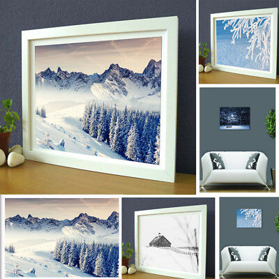 Art Canvas Unframed Modern Abstract Oil Painting Picture Print Home Wall Decor