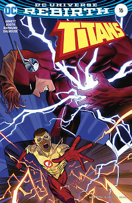 Titans #16 Variant (Dc 2017) Near Mint First Print Bagged And Boarded