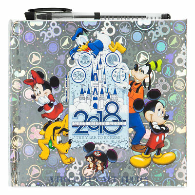 Disney World 2018 Official Autograph/Photo Book with Pen, NEW