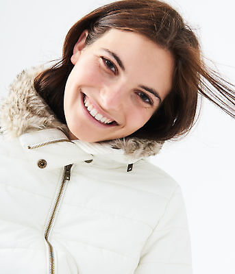 aeropostale womens solid hooded puffer jacket