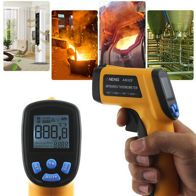 Non-Contact GM320 LCD IR Laser Infrared Digital Temperature Thermometer Gun