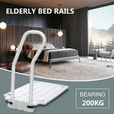 Grip Bed Rail Mobility Disability Aid Support Bar Handle Elderly Rails 300 lbs