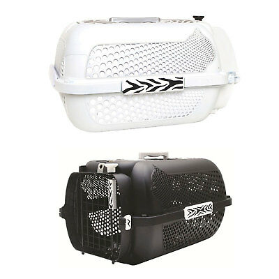 Catit Style Profile Voyageur Cat Carrier - White Tiger or Black Tiger - Medium