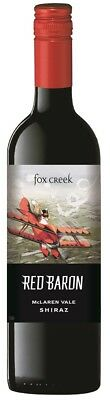 Fox Creek `Red Baron` Shiraz 2015 (12 x 750mL), McLaren Vale, SA.