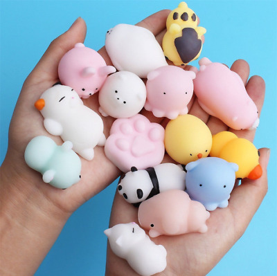 Novelty Animals Shaped Squeeze Toys Stress Relief Squeeze Venting Ball Toy Gifts