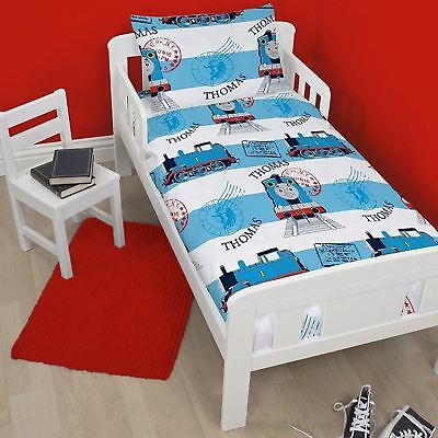 Thomas The Tank Adventure Engine Junior Toddler Cot Bed Duvet Cover Bedding Set