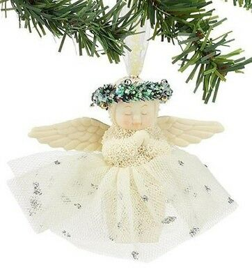 Dept 56 Snowbabies And God Bless Me Ornament  BRAND NEW  Free Shipping