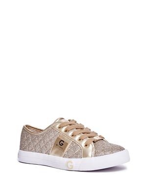 G By Guess Women's Byrone Quilted Metallic Sneakers