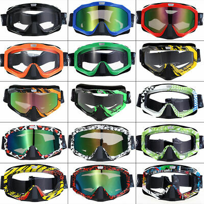 Collapsible Motorcycle Motocross Bicycle Scooter ATV MTB Goggles Eyewear Glasses