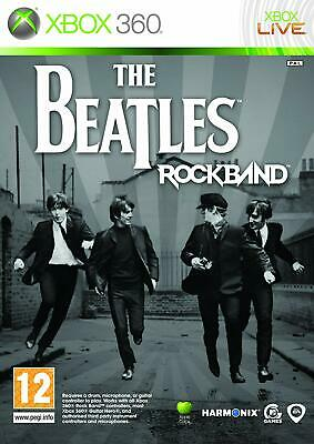 Xbox 360 Game The Beatles Rock Band Rock Band