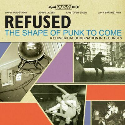 Refused - Shape Of Punk To Come, The (Deluxe Ed. 2CD/DVD) (R0) - CD - New