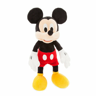 "Disney Store Authentic Mickey Mouse Plush 17"" Toy Doll New"