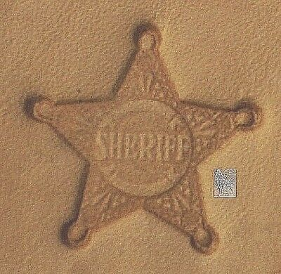 8470 Cowboy Hat Craftool 3-D Stamp Tandy Leather 88470-00