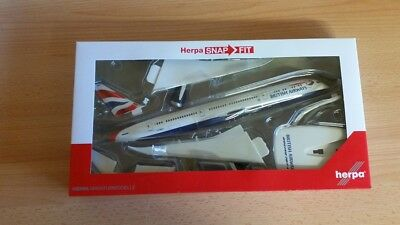 Herpa Snapfit 611572 - 1/200 Boeing 787-9 Dreamliner - British Airways - Neu