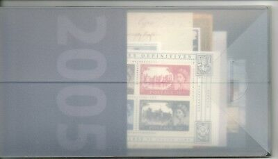 2005 Miniature sheets special year pack, 9 miniature sheets, seldom seen