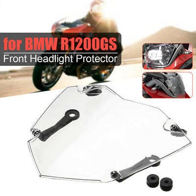 Front Headlight Guard Cover Lens Protector For BMW R1200GS ADV WC 13-17 Clear