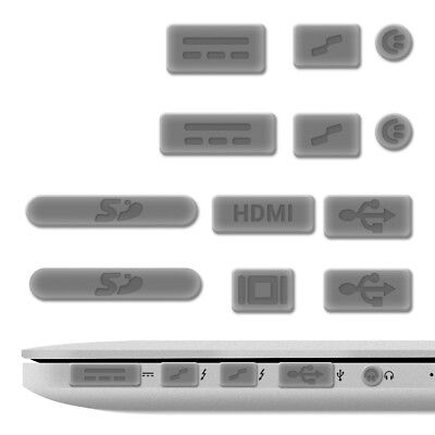 """Dust Protection Set For Apple Macbook Pro 13"""" 15"""" Retina Air 11"""" 13""""(From Mid"""