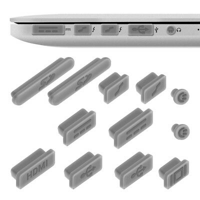 """kwmobile DUST PROTECTION SET FOR APPLE MACBOOK PRO 13"""" 15"""" RETINA AIR 11"""" MID"""