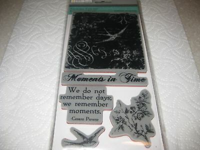 TPC Studio Rubber Cling Stamps- ANCESTRAL COLLAGE -#161