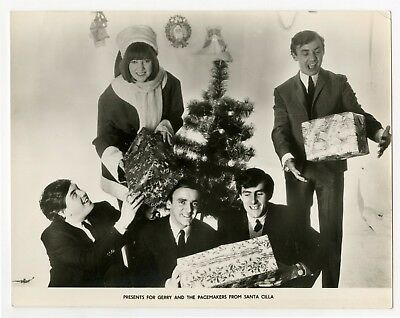 Gerry & The Pacemakers Cilla Black 1963 Promotional Photograph