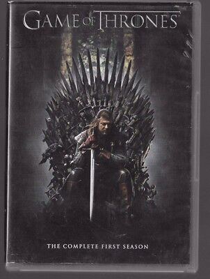 Game of Thrones The Complete First Season 1st USED 2015, 4-Disc Set)