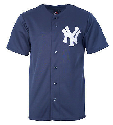 MLB Baseball New York NY Yankees Trikot Jersey navy Majestic