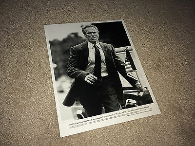 IN THE LINE OF FIRE Orig Movie Photo 1993 Clint Eastwood Secret Service Agent