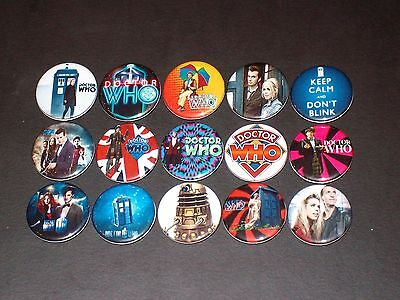Doctor Who Buttons/ Pins 15
