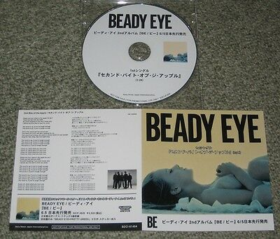 BEADY EYE Japan PROMO ONLY CD with picture sleeve OFFICIAL Oasis LIAM GALLAGHER
