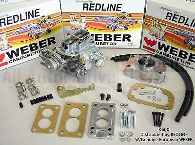 Suzuki Samurai Weber Carb Conversion Kit Water Choke w/air filter adapter