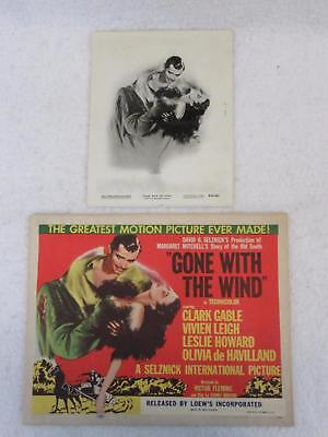 Lot of 17 GONE WITH THE WIND National Screen Service Corp. PHOTOS & POSTERS 1954