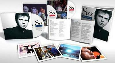 """Peter Gabriel So (25th Anniversary Deluxe Box Set) 4CD/2Dvd/LP/12""""/60 page Book"""