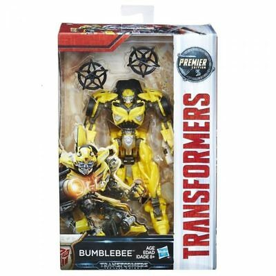 Transformers The Last Knight Premier Edition Deluxe Bumblebee 5.5 Inch Scale ...