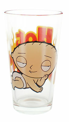 "Family Guy Stewie ""Hot Stuff"" 16oz Pint Glass"