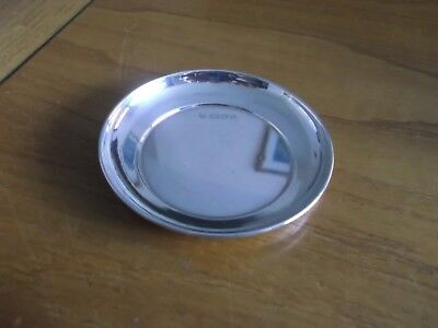 Beautiful Vintage Hallmarked London Solid Silver Pin Dish Not Scrap £9.99