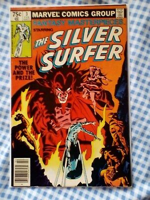 Fantasy Masterpieces 3, (1979) Silver Surfer 3 from 1968, 1st app Mephisto