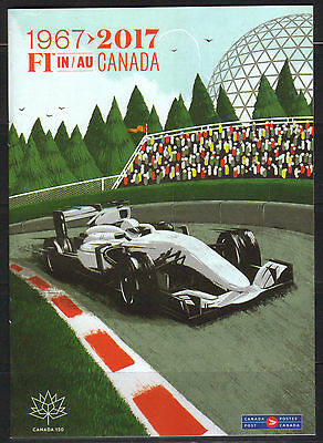 Canada - 'Details' May Issue on 2017 Formula 1 Showing Recalled Villeneuve FDC