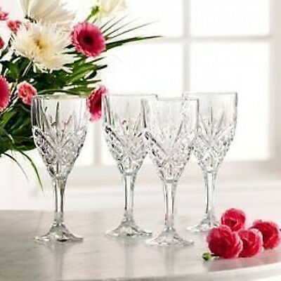 Galway Crystal Abbey Set of Wine Glasses - Boxed Set of 6  - RRP £70