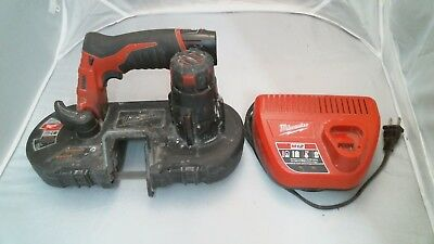 milwaukee m12 12v cordless subcompact band saw bundle battery u0026 charger