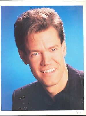 "Randy Travis, Country Music Star in 1992 Magazine Print Article. ""Opry History"""