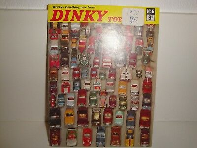 1970 Dinky Toys Catalogue-Uk Edition
