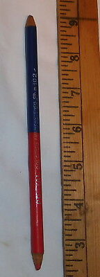 vintage postal Colored American Pencil Co New York USA 102 red Blue pencil
