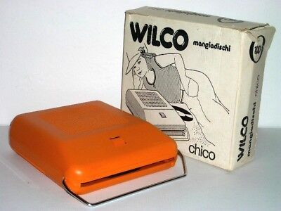 Mangiadischi Wilco -In Box- Made In Italy Pop Art Space Disco Age Record Player